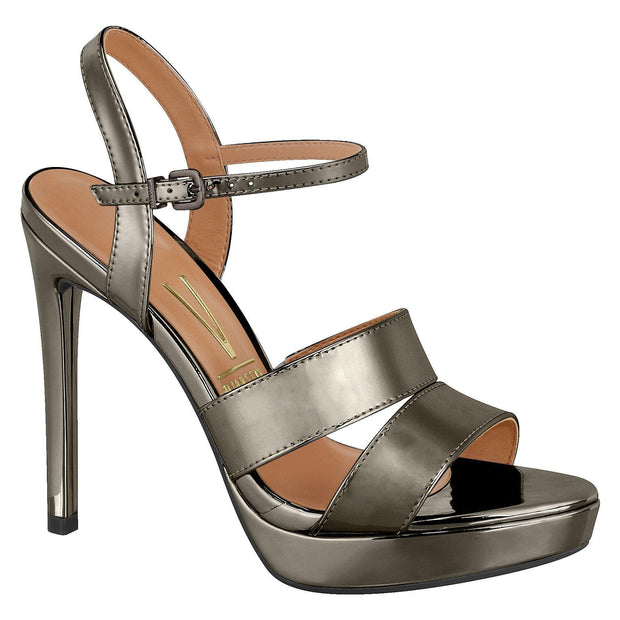 Vizzano 6326-102 High Heel Sandal in Graphite Sandals Vizzano
