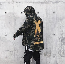 Load image into Gallery viewer, Fashion Coat X Jacket Camouflage Colour
