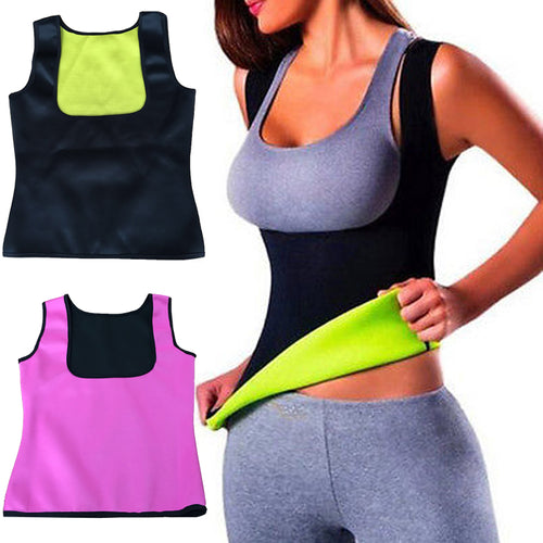 Women Clothes Neoprene T-Shirt Tops New Fashion Body Shapers Slimming Waist Slim Vest Underbust Hot Sale