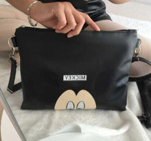 Load image into Gallery viewer, Women Messenger Bags Minnie Mickey Bag Leather Handbags Clutch Bag Bolsa Feminina mochila Bolsas Female sac a maingif