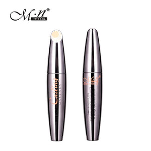 M.n Menow Mascara with 2pcs Eyebrow Pencil Longwearing Cosmetics 3D Fiber Lashes Lengthening