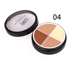 Load image into Gallery viewer, Menow 4 Colors Brand Makeup Face Concealer Cream Long Lasting Waterproof Camouflage Concealer Palette C14002