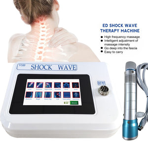 Portable Physical Therapy Equipment ED Electromagnetic Extracorporeal Shock Wave Therapy Machine Pain Relief Body Relax Massager