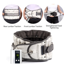 Load image into Gallery viewer, Back Pain Belt Leawell Decompression Belt for Lower Back Pain Relief and Lumbar Support Prevent  Scoliosis and Spondylolisthesis