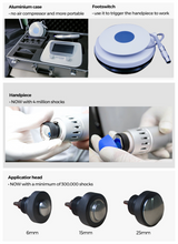 Load image into Gallery viewer, Electro magnetic Shockwave Therapy Equipment /Pulse Magnetic therapy machine /hot sell medical device for body pain and massage