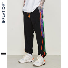Load image into Gallery viewer, Colour Block Tracksuit Elastic Waist Male Pants Gym Joggers Sweatpants Drawstring Streetwear Hip hop Pants 9327S