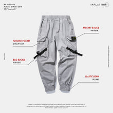 Load image into Gallery viewer, New Casual Pants Men Cotton Cargo Pants Fashion Male Brand Clothing Side Pocket Tape Streetwear Trousers NEW8866W