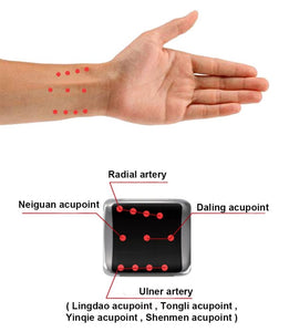 Semiconductor High Blood Cleaner Watch Blood Irradiation Low Frequency Power Cold Laser Therapy Device