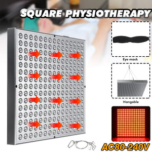 450W LED Red Light Therapy Lamp Red 660nm Full Body Light Therapy for Muscle Joint Pain Relief WAnti-Aging Therapy Panel Lamp