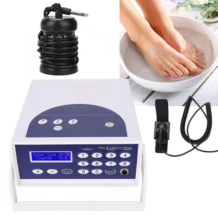 Therapy Anion Hydrogen Molecule Cell Detox Foot Bath Spa Machine Health Care Device Foot Massager Relaxation fast shipping US EU