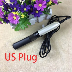 Multifunctional Hair Comb Curling Iron Hair Volumize Flatten Side and Straighten Hair Curler Show Cap Quick Hair Styler