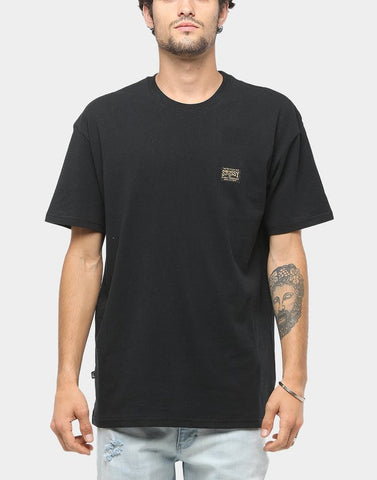 STUSSY Long Haul Tee - black