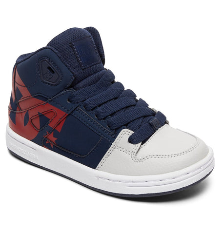 DC Pure High Top SP Navy/Grey