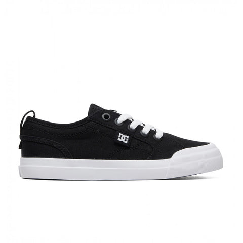 DC Evan TX - Youth Black/White