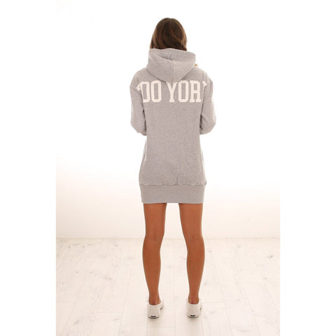 ZOOYORK College Hooded Dress