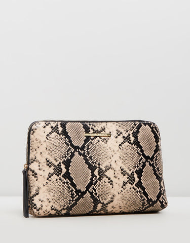 TONY BIANCO Large Zip around Clutch