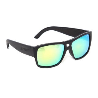 JETPILOT Addict Ride Matte Black/Green Floatable Sun Glasses  product_vendor] - HITTIN'THE STREET