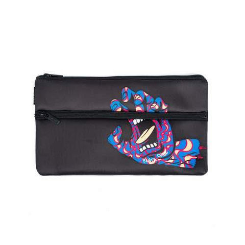Santa Cruz - Kaleidohand Pencil Case - BLACK