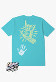 Santa Cruz (Youth) - Rock Hand Thermal Tee - BLUE