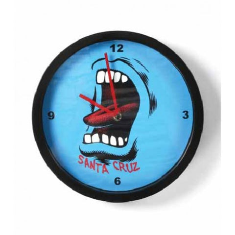 Santa Cruz Screaming Mouth Clock  product_vendor] - HITTIN'THE STREET