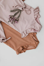 Load image into Gallery viewer, Ribbed Mauve Swimsuit PRE-ORDER