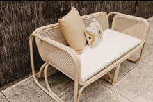 Load image into Gallery viewer, Hayman Rattan 2 seater Lounge