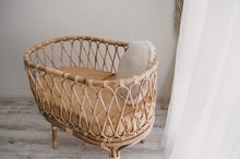 Load image into Gallery viewer, Nova Rattan Bassinet