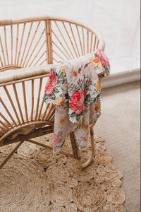 Miami Floral Swaddle