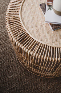 Marle Rattan Coffee Table