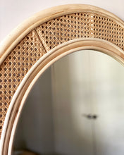 Load image into Gallery viewer, Solomon Rattan Arch Mirror