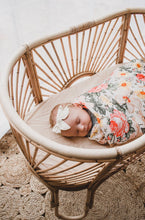 Load image into Gallery viewer, Miami Floral Swaddle