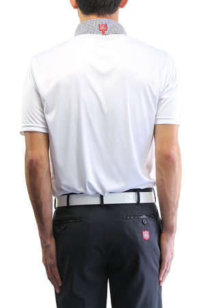 The Pocket Classic - Pure White / Pure White Gingham - iliac by Bert LaMar