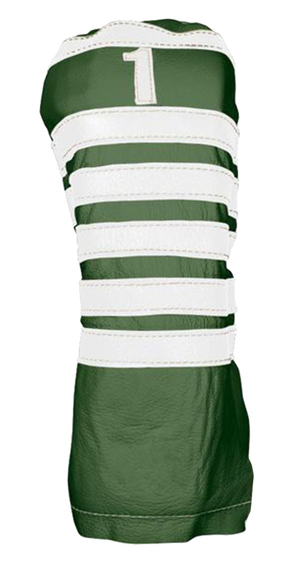 Polo - Old English Green / Pure White - iliac by Bert LaMar