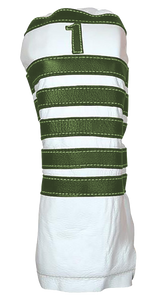Polo - Pure White / Old English Green - iliac by Bert LaMar