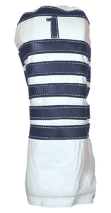 Polo - Pure White / Navy - iliac by Bert LaMar