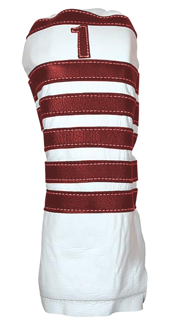 Polo - Pure White / Ox Blood - iliac by Bert LaMar