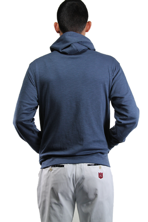 Turf Hoodie Light - Mist Blue - iliac by Bert LaMar