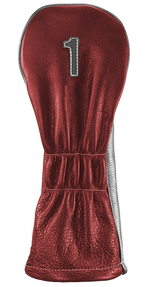 The Vintage Two - Ox Blood / Grey / Pure White Stitching - iliac by Bert LaMar