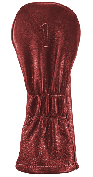The Vintage Two - Ox Blood / Ox Blood / Pure White Stitching - iliac by Bert LaMar