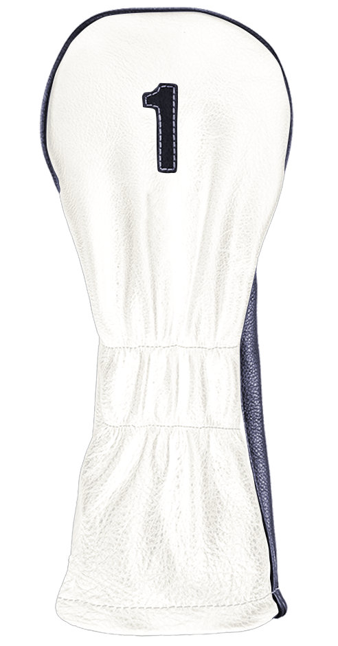 The Vintage Two - Pure White / Navy / Pure White Stitching - iliac by Bert LaMar