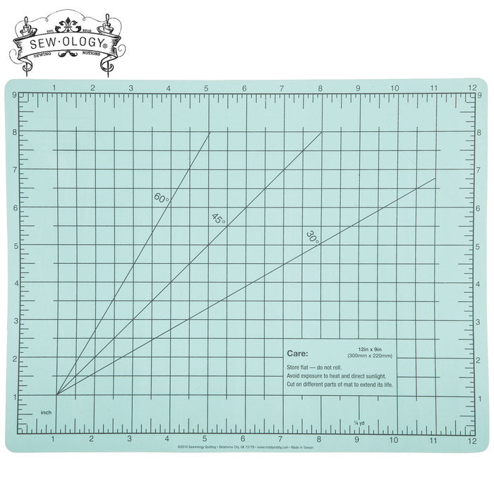 Sew Ology Quilting - Double Sided Self Healing Cutting Mat