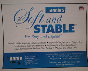 Soft & Stable bag stabiliser by Annie's