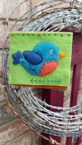 Woolly Bird Pin Cushion Kit by Sue Roper