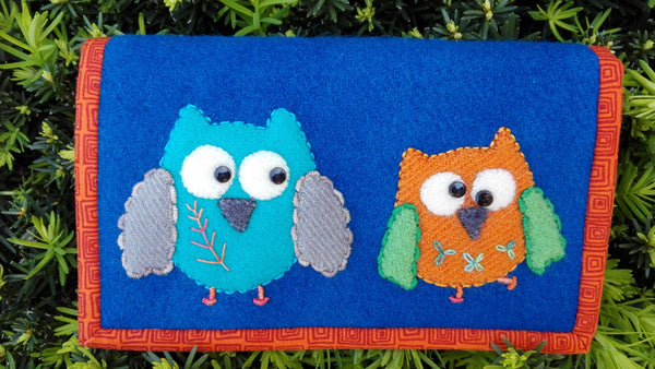 Owl Notions Folder by Sue Roper