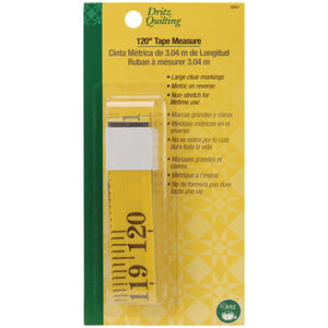 Dritz Quilting - Tape Measure 120""