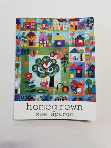 """Homegrown"" by Sue Spargo"