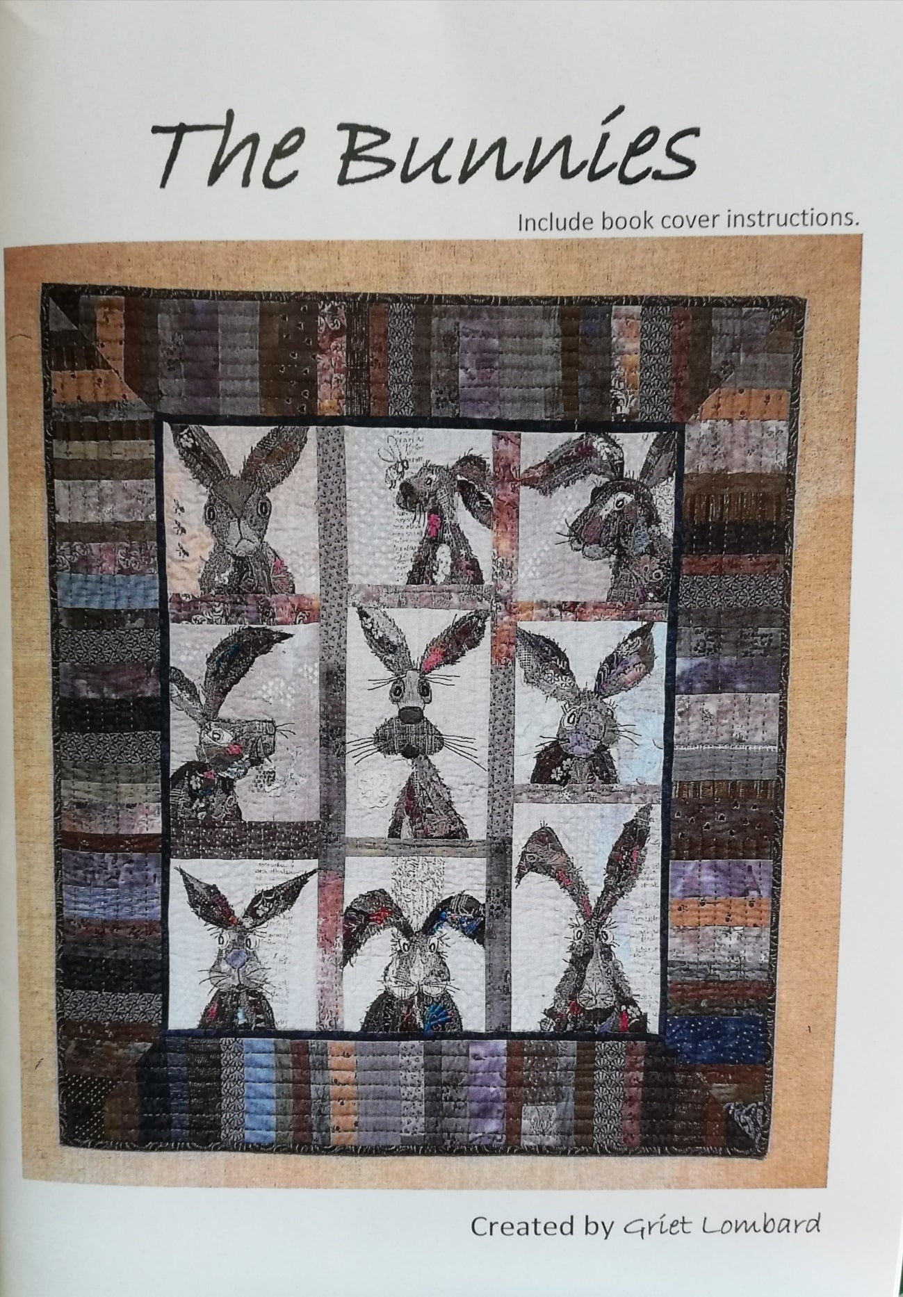 The Bunnies pattern by Griet Lombard