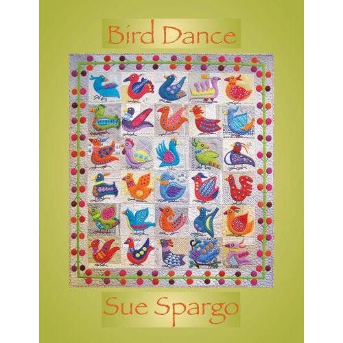 Bird Dance Book by Sue Spargo