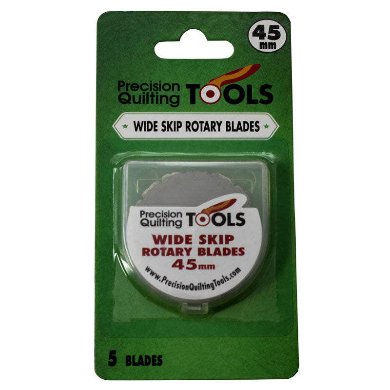 Precision Quilting Tools - Wide Skip Rotary Blades