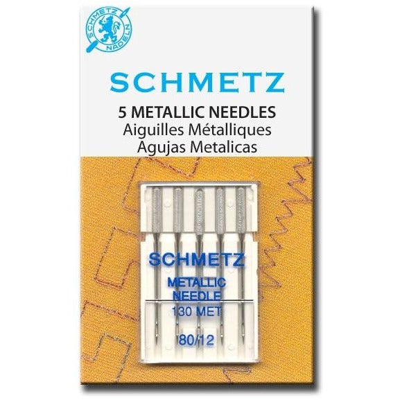 Schmetz - 5 Metallic Needles